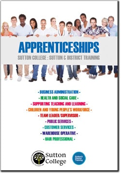 Apprenticeships at Sutton College