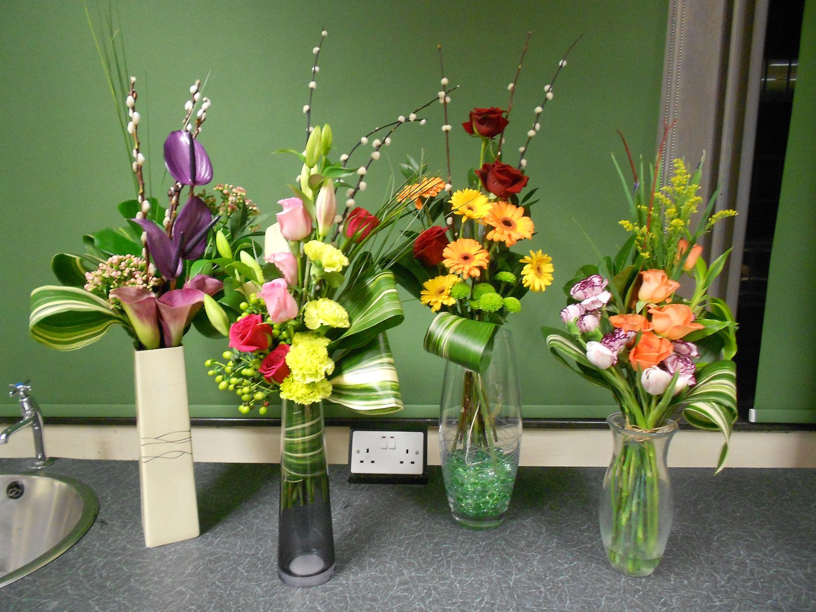 Flower arranging classes gallery sutton college