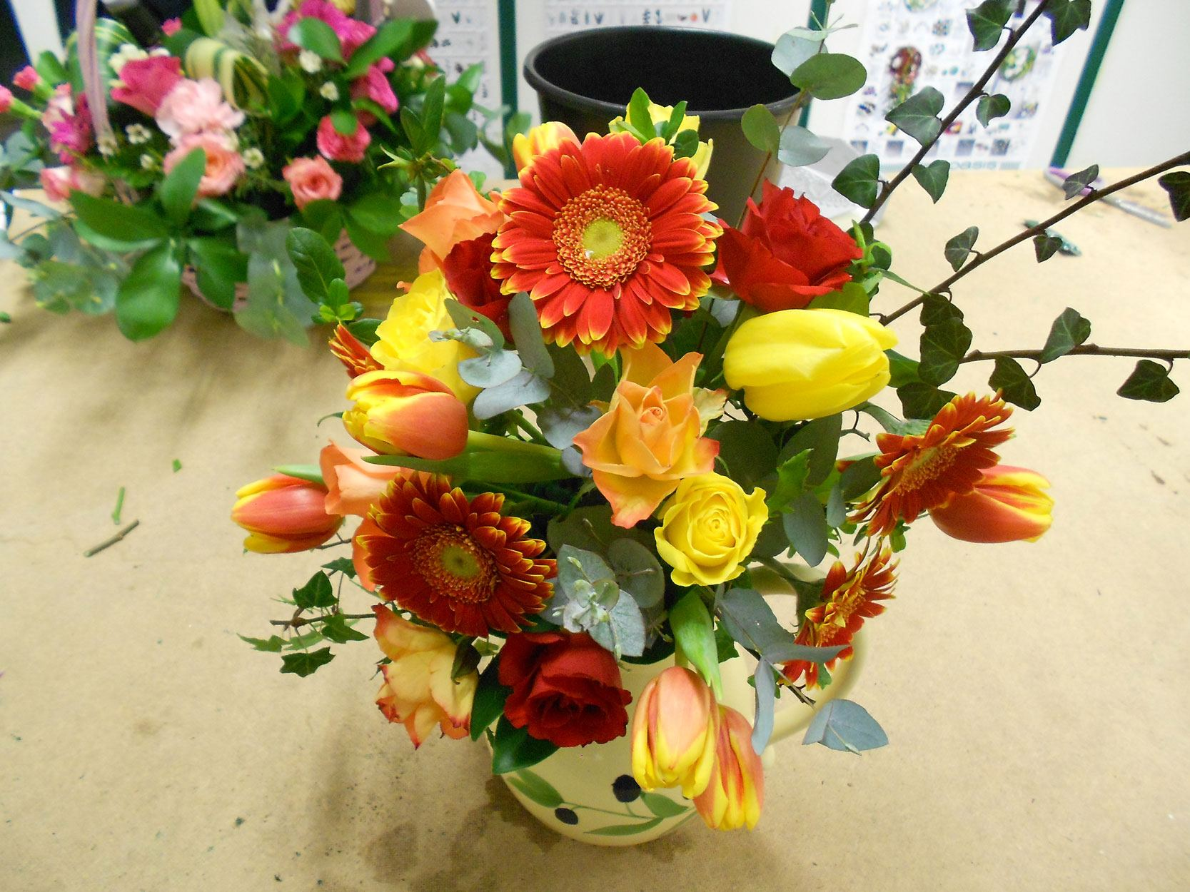 Flower arranging classes gallery sutton college