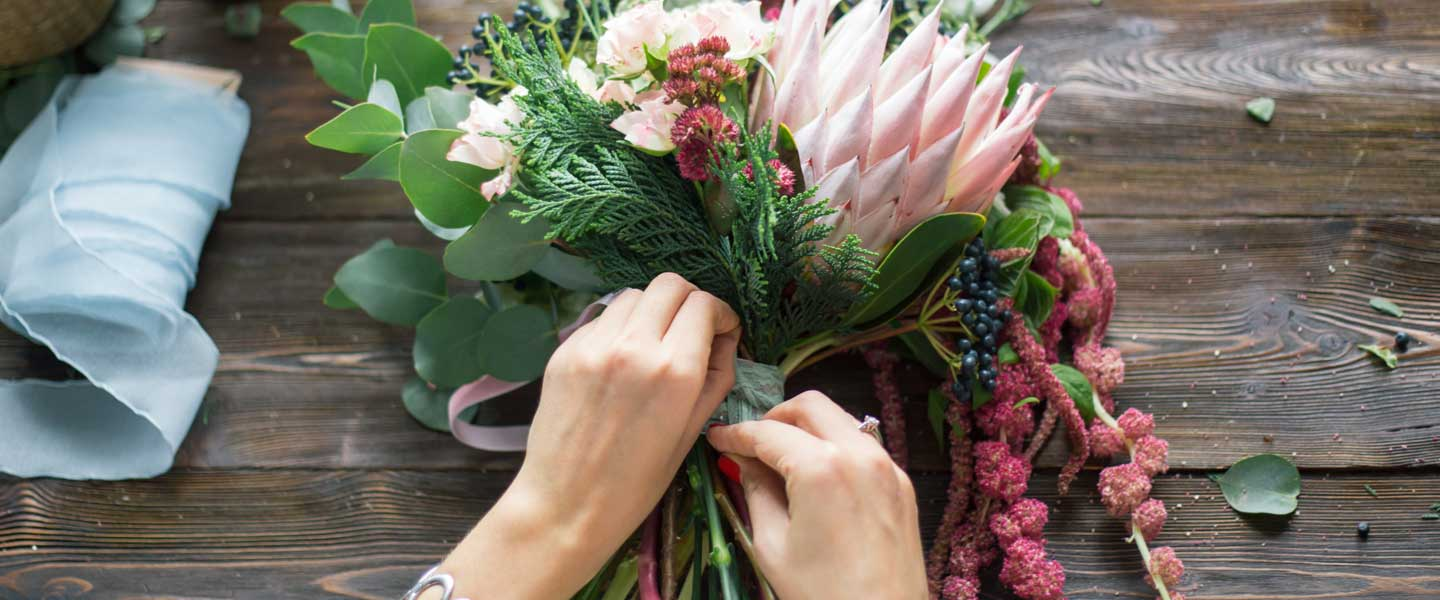 Flower Arranging courses at Sutton College