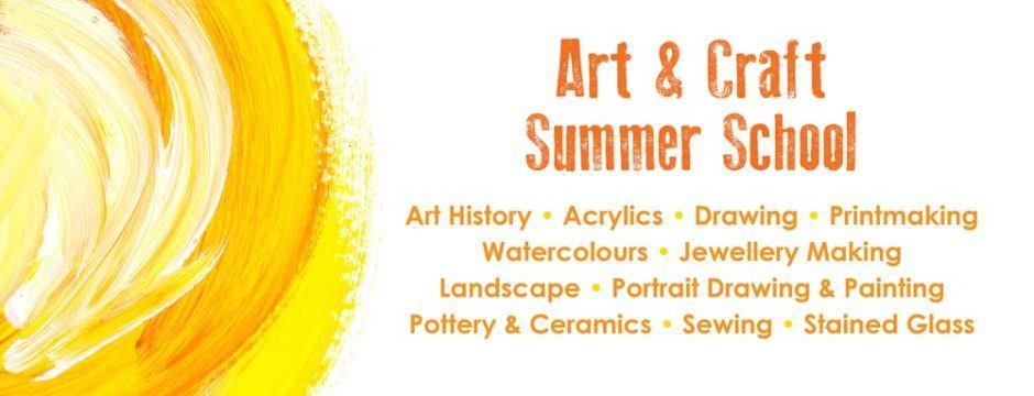 Art Summer School Classes at Sutton College