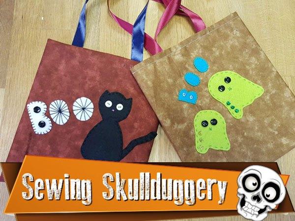 Sewing Workshop Kids Club Halloween